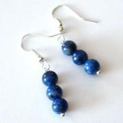 Lápisz lazuli fülbevaló