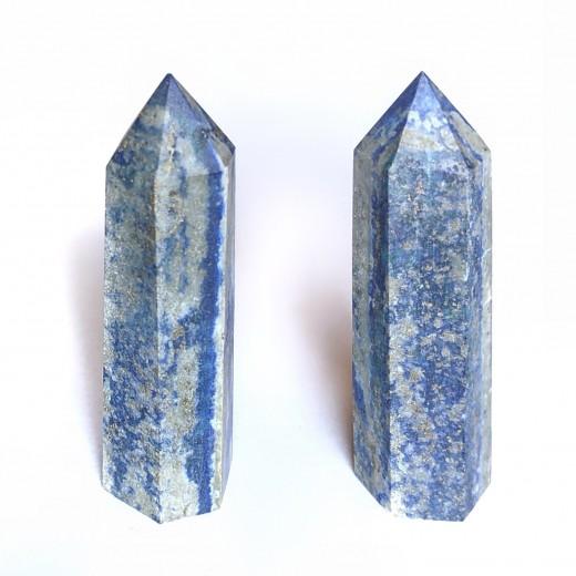 Lápisz lazuli ásvány csúcs