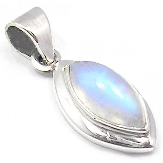 Holdkő medál, ezüst, mini