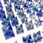 Lápisz lazuli merkaba kristály